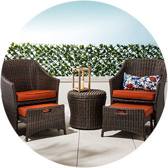 Outdoor furniture patio furniture sets target for Outdoor dining sets for small spaces