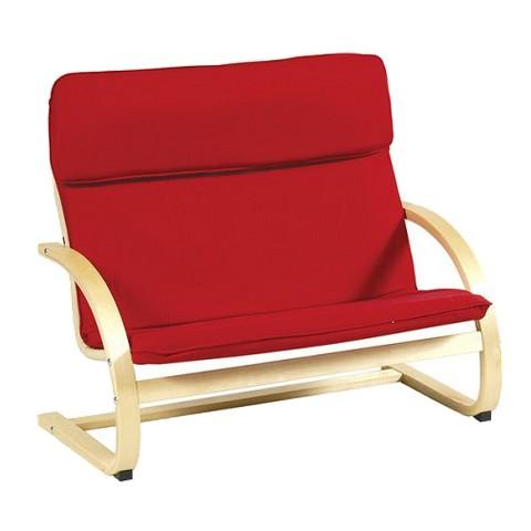 Guidecraft Kiddie Couch - Red