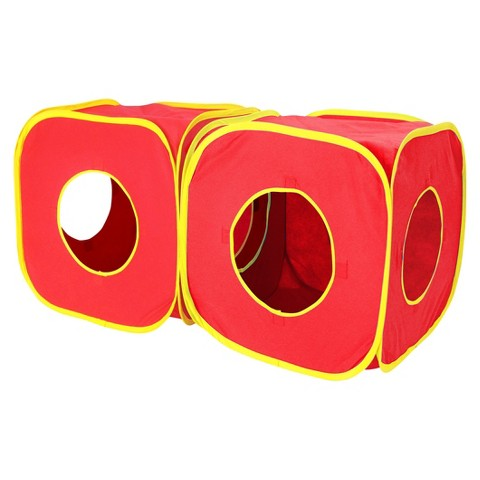 SportPet Set of 2 Cat Cubes - Red