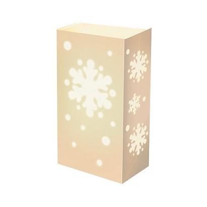 Complete Luminaria Kit- Snowflake (12 Count)