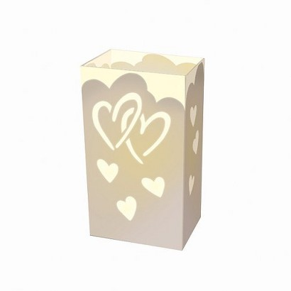 Complete Luminaria Kit- Hearts (12 Count)