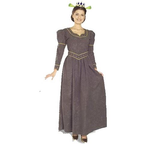 Women's Princess Fiona Deluxe Costume - Size (8-12)