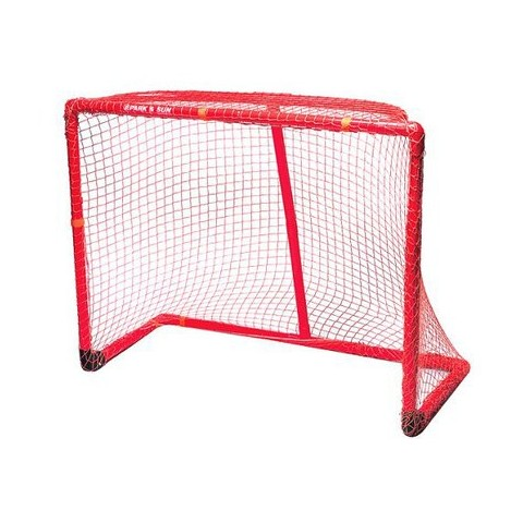 Red Folding Street Hockey Goal