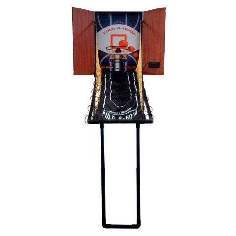 Fold-A-Hoop Indoor Basketball Unit