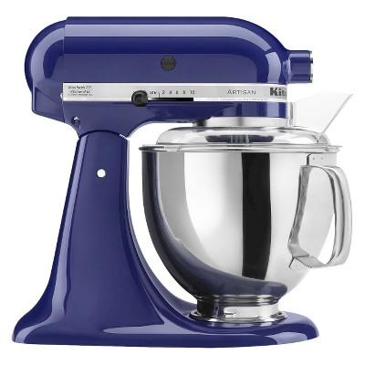 KitchenAid® Artisan 5 Qt Stand Mixer- Cobalt Blue KSM150