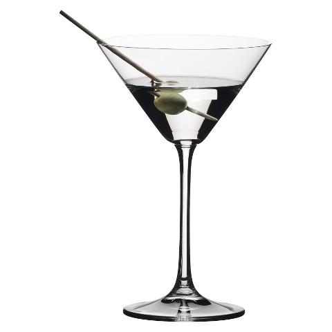 Riedel Vivant Martini Glasses Set of 4