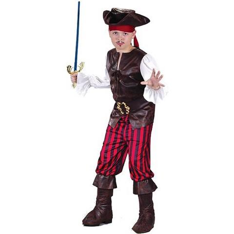 Toddler Boy's Buccaneer Costume 3T-4T