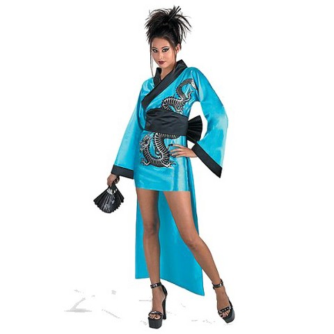 Women's Dragon Geisha Costume - M/L (12-14)
