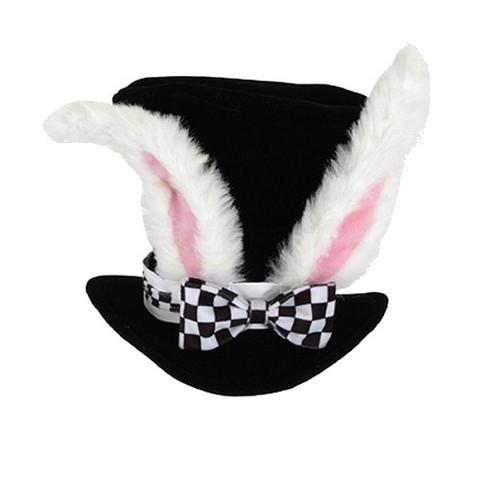 Adult White Rabbit Hat