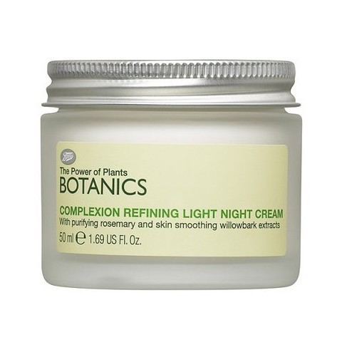 Boots Botanics Complexion Refining Light Night Cream