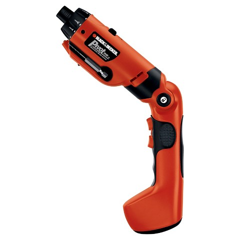 Black & Decker Pivot Plus 6V High Performance Screwdriver - PD600
