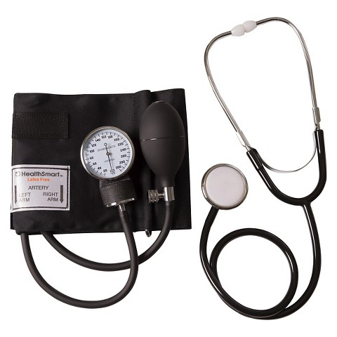Mabis Blood Pressure Kit - Black
