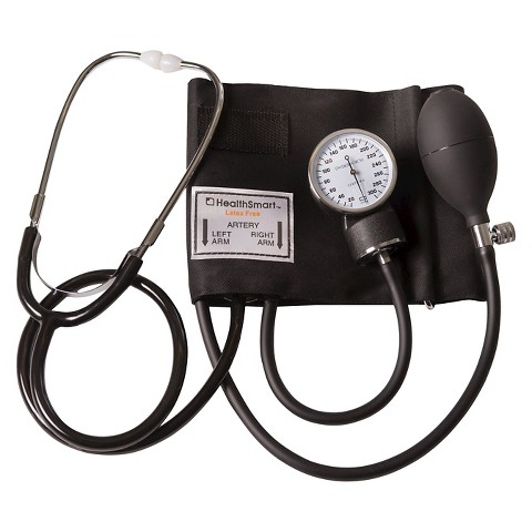 Mabis Self Taking Blood Pressure Kit - Black