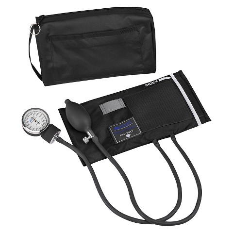 Mabis Aneroid Sphygmomanometer Kit - Black
