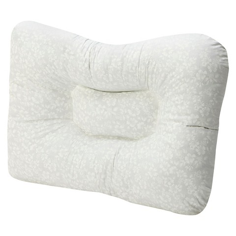 Mabis Stress Ease Support Pillow - White