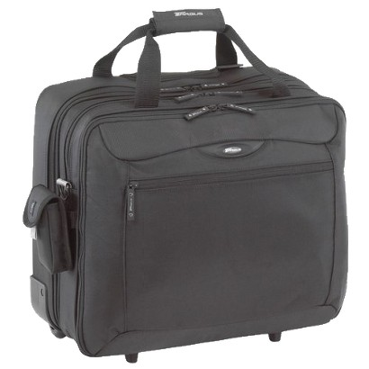 "Targus TCG717 17"" Rolling Travel Notebook Case - Black"