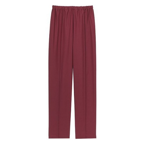 Medline Raspberry Ladies Classic Scrub Pants with Elastic Waist