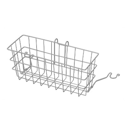 Mabis Clip On Walker Basket - White