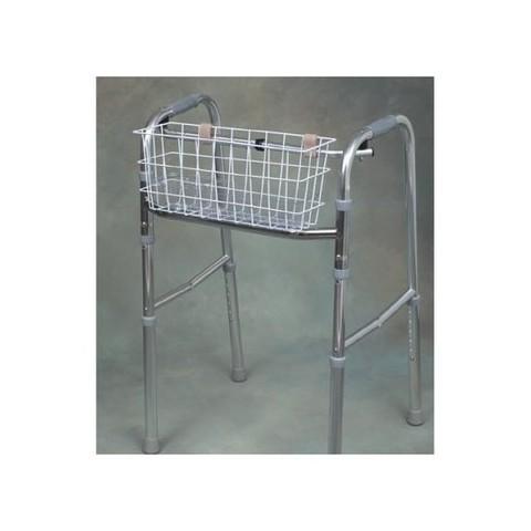Mabis Universal Walker Basket -  White