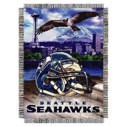 Home Field Advantage Throw - Seahawks