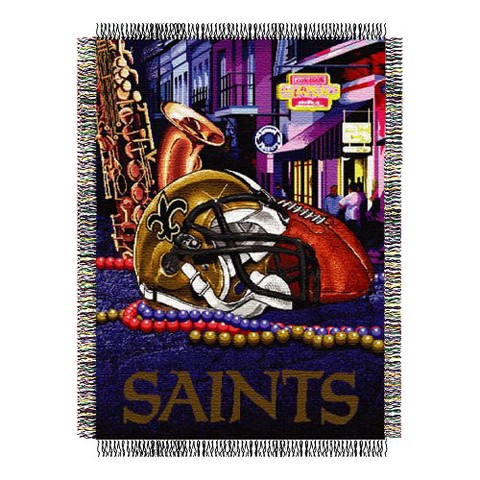 New Orleans Saints Home Field Advantage Throw