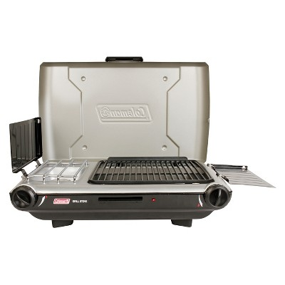 Coleman Outdoor Grill and Stove - Silver/blk