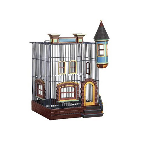 Prevue Pet Products Fetherstone Heights Brownstone Bird Cage - Small