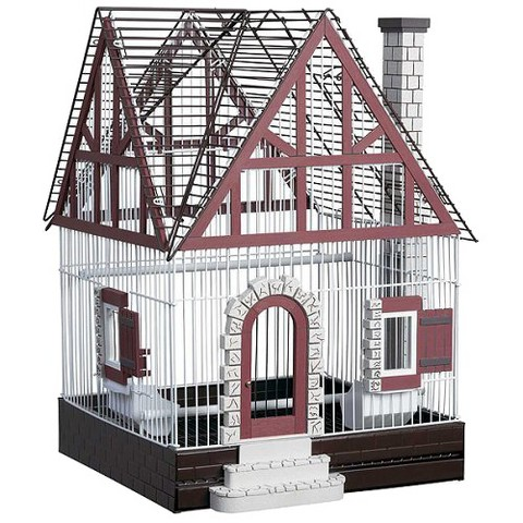 Prevue Pet Products Fetherstone Heights Tudor Bird Cage - Small