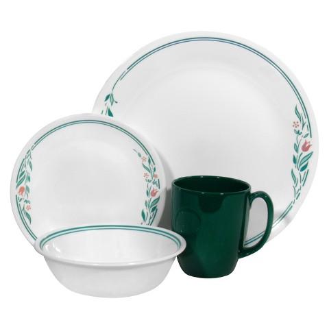 Corelle Livingware 16 Piece Dinnerware Set - Rosemarie