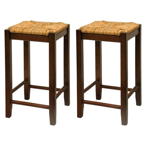 Alec Rush Seat Stools - Set of 2