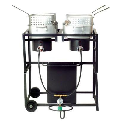 Outdoor Frying Cart