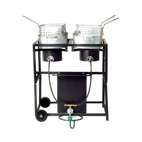 Outdoor Frying Cart