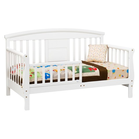 DaVinci Elizabeth II Convertible Toddler Bed - White