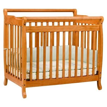 DaVinci Emily Mini Crib - Honey Oak