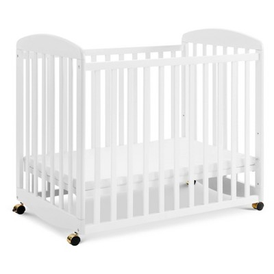 DaVinci Alpha Mini Rocking Crib - White