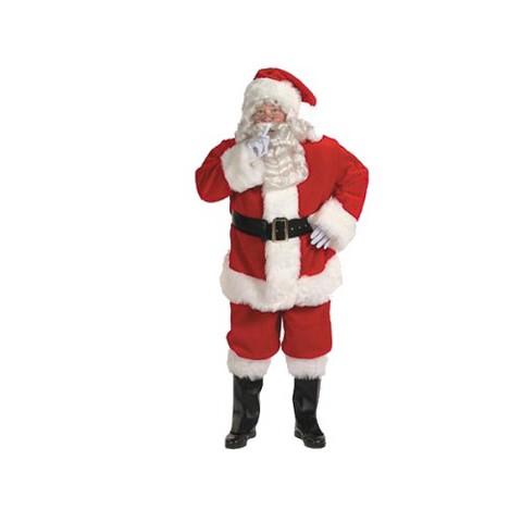Men's Professional Santa Suit Costume - XXL