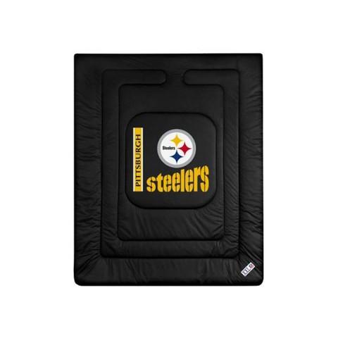 Pittsburgh Steelers Comforter - Full/Queen