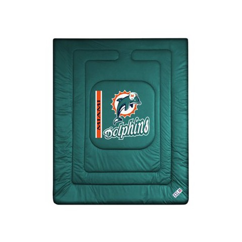 Miami Dolphins Comforter - Full/ Queen