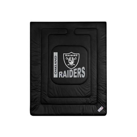 Oakland Raiders Comforter - Full/Queen