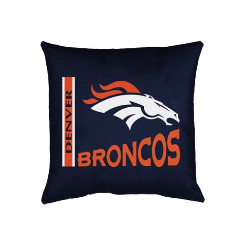Denver Broncos Decorative Pillow