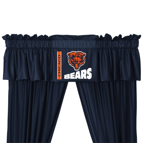 Chicago Bears Valance