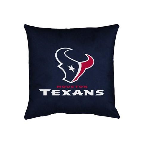 Houston Texans Decorative Pillow
