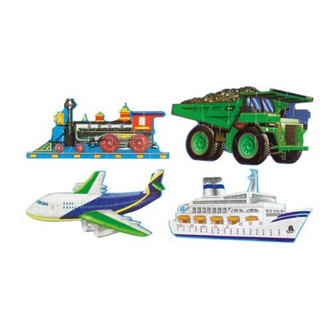 Melissa & Doug® Construction and Going Places Puzzle Set