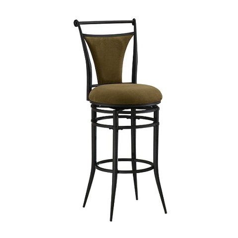 Cierra Swivel Stools - Black/Bear