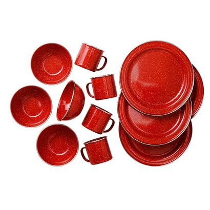 PIONEER TABLE SET-RED
