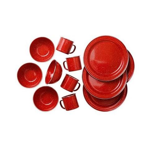 PIONEER TABLE SET-RED