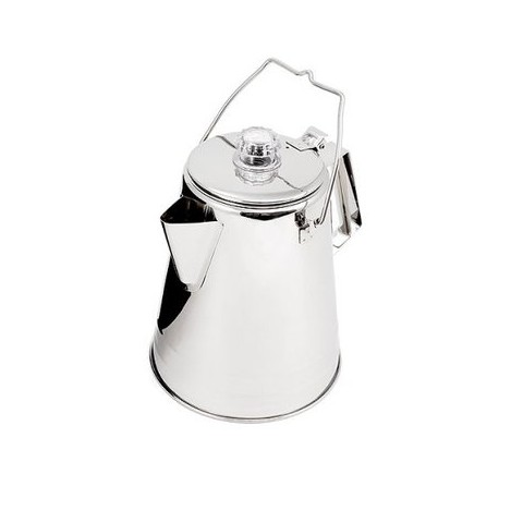 Stainless Steel Conical Coffee Pot