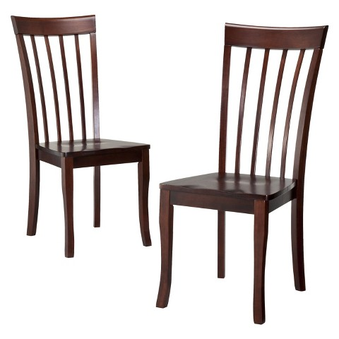 Dolce Dining Chair Brown Set of 2 Tar