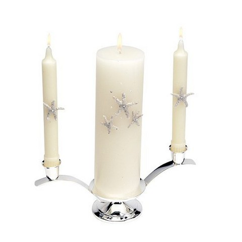 Beach Candle and Tapers - Ivory