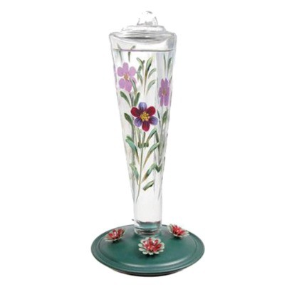 Violet Meadows Hummingbird Feeder